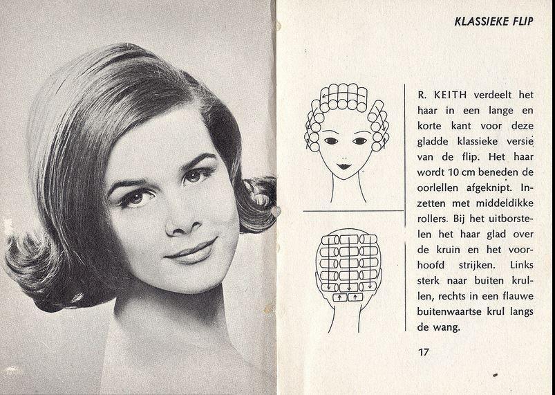 Side Part Flip Hairstyle Vintage Hairstyles Hair Setting Roller Set Hairstyles