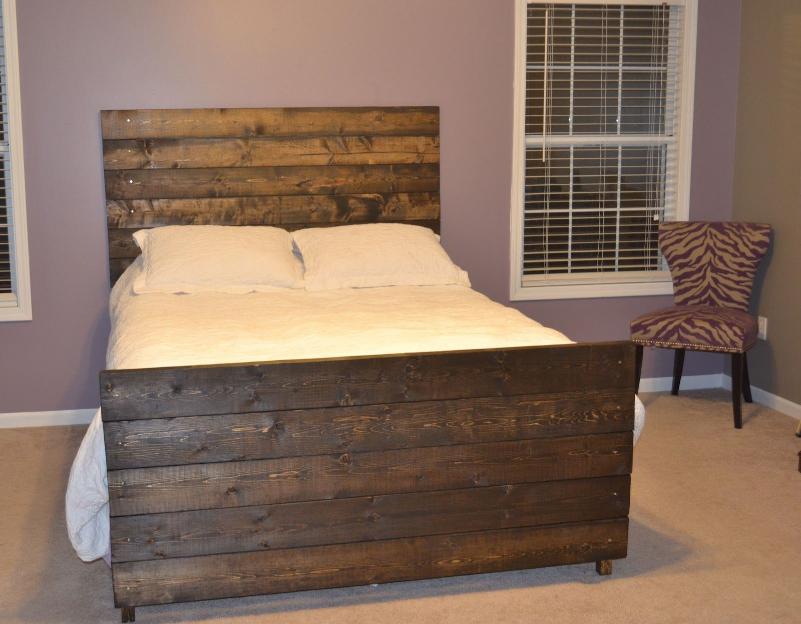 A Bedroom Oasis {Sort Of} Bedroom diy, Headboard and