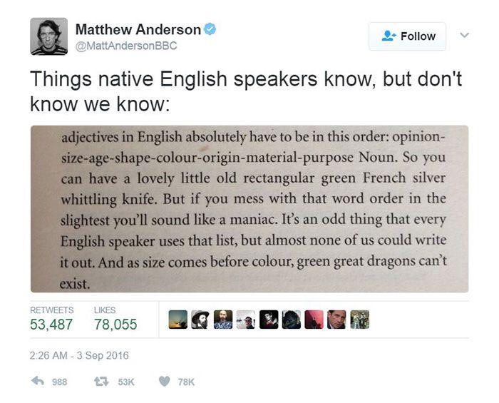 30 Hilarious Reasons Why The English Language Makes No Freaking Sense