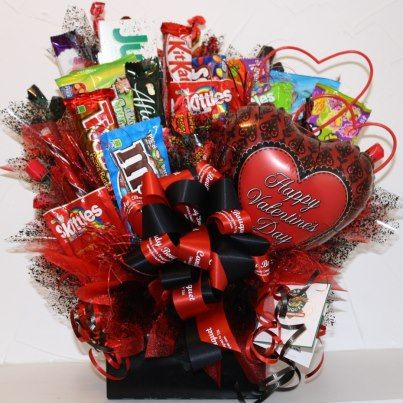 Schön A Few Years Back, When Our Son And His Girlfriend Were Away At College, ·  Candy Gift BasketsValentine ...
