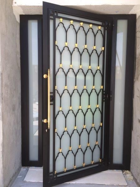 30 Unique Wrought Iron House Door Gallery | ideas of may …