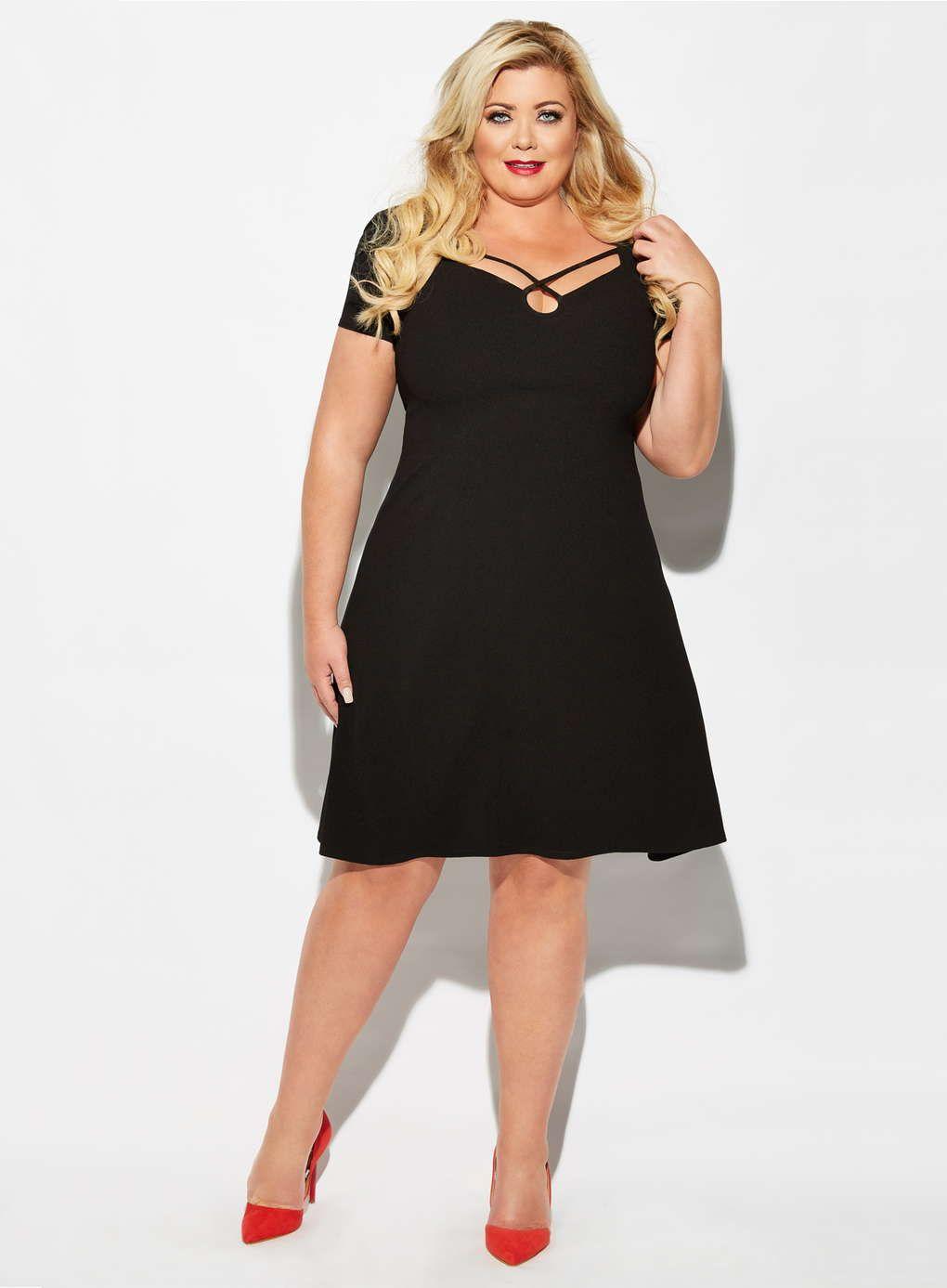 Gemma Collins Mexico Dress - Evans  6c146560c714