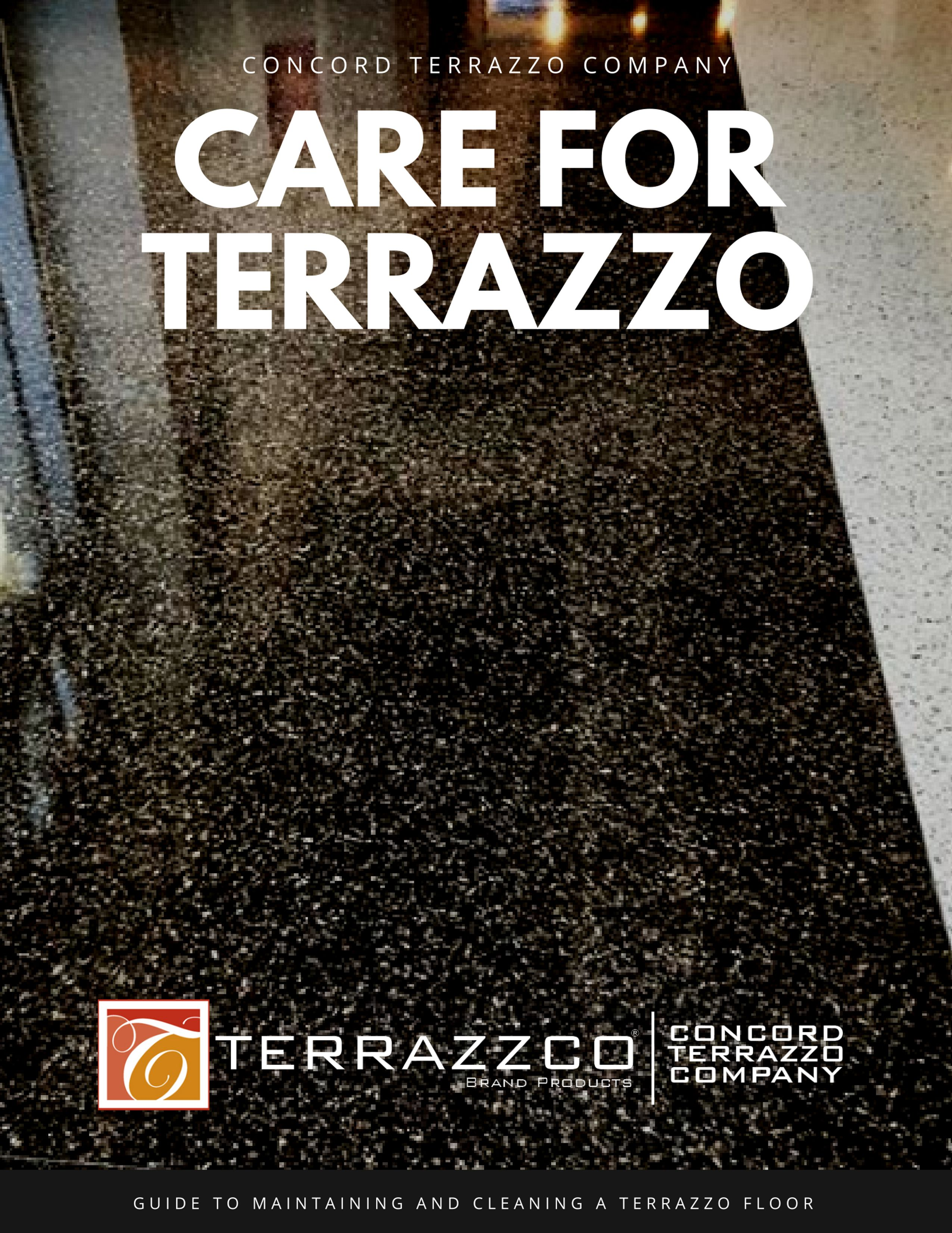 Care For Terrazzo Guide To How To Clean And Maintain A Terrazzo - How to maintain terrazzo floors