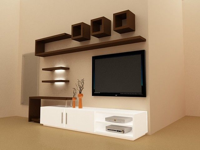 Interior design ideas tv unit photo 6
