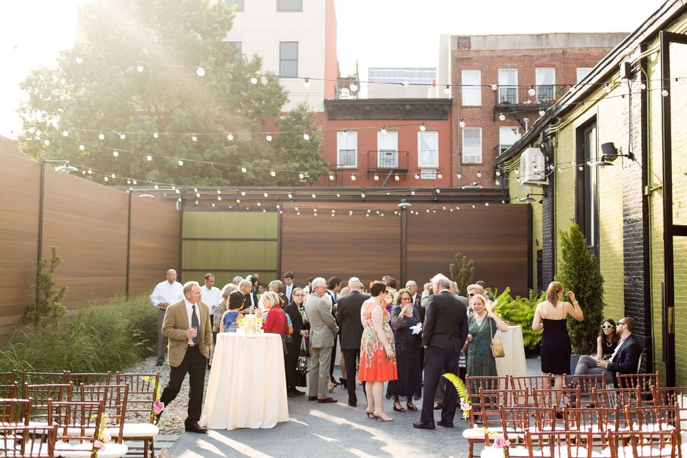 Summer Wedding At The Green Building Allie Isaac