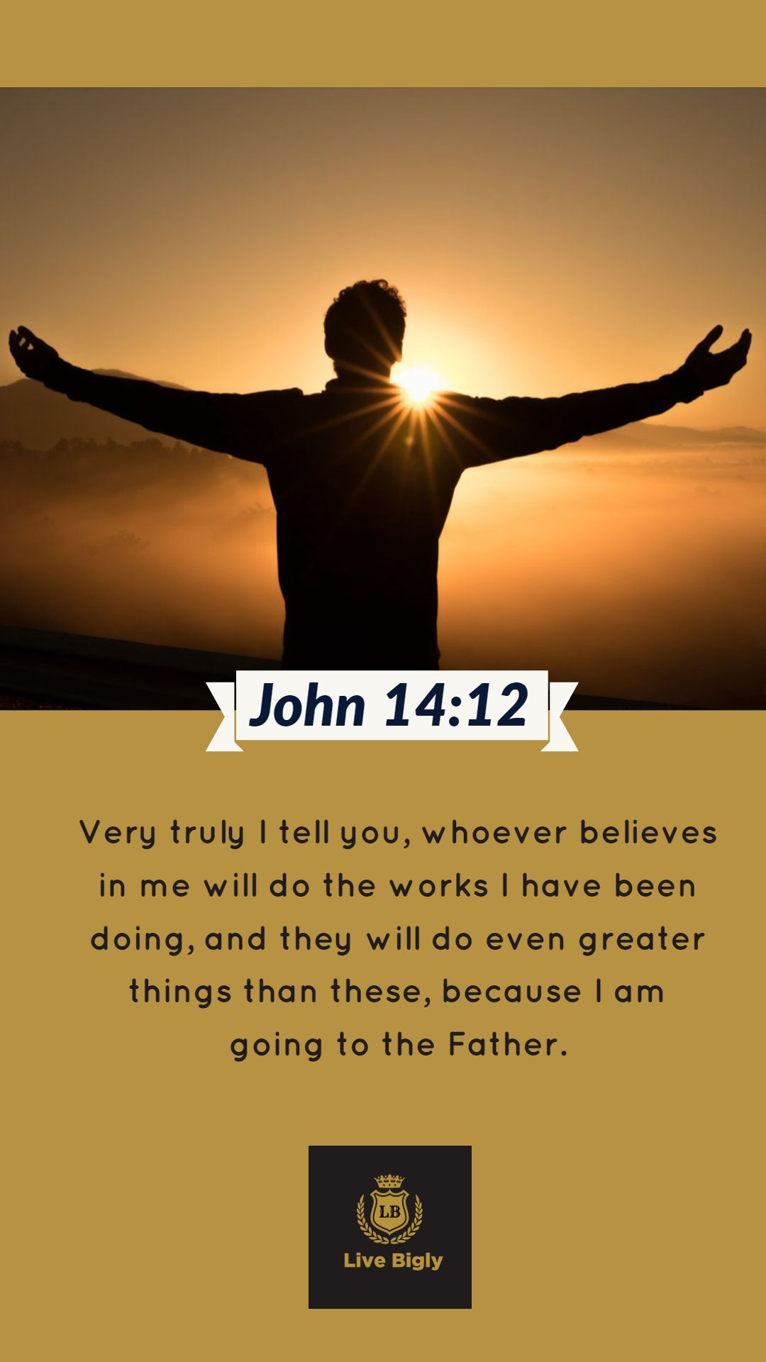 Believe And Great Thing Will Come Your Way Bible Livebigly
