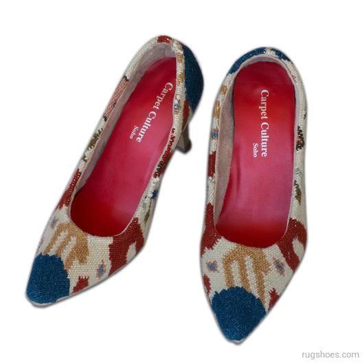 Donyaa Heels - Women's Fashion Heels - Casual Wool Shoes - Fashion Shoes for Women - Carpet Culture Soho