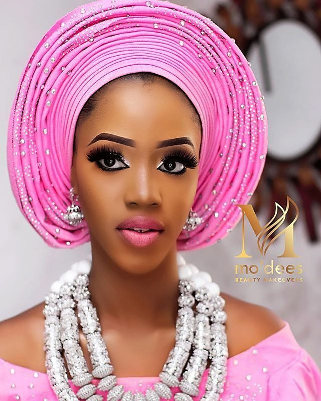 Two words for this look? MUA @mo_dees #sugarweddings | Afro Brides ...