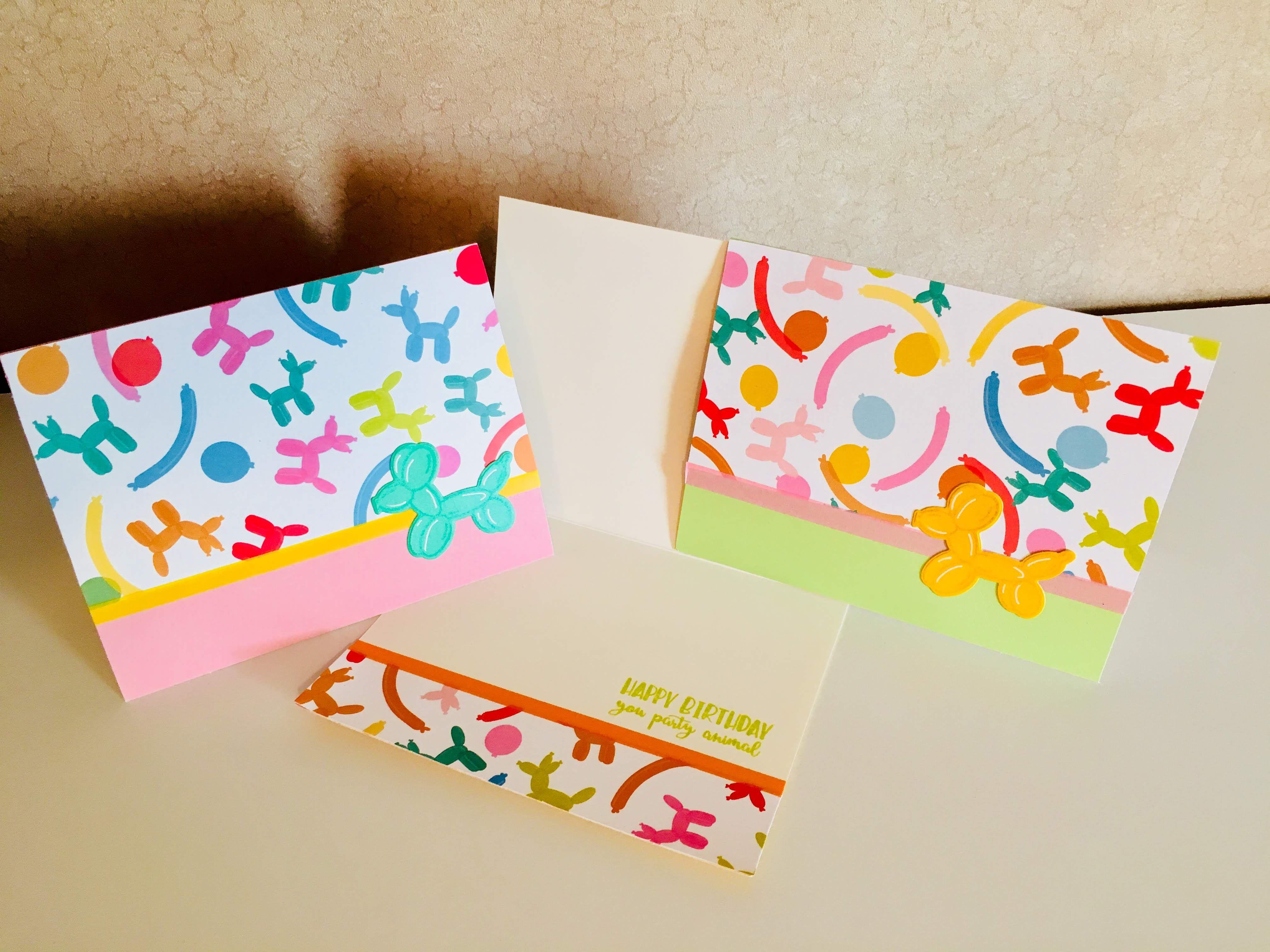 Party Animal Birthday Cards