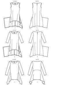 Bildresultat för free tunic sewing patterns for women