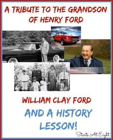 A Tribute To The Grandson Of Henry Ford And A History Lesson
