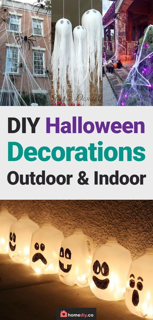 DIY Halloween Decorations - Best Home DIY Ideas to Try this Year - halloween decorations party