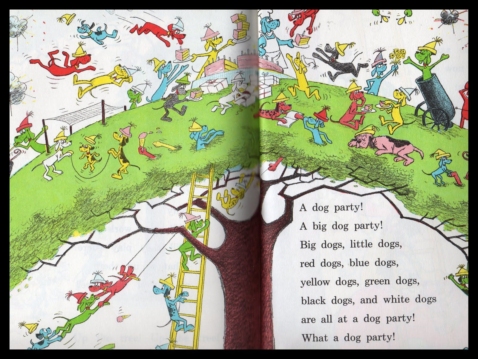 Dr Seuss Go Dog Go I Think This Was My Favorite Page