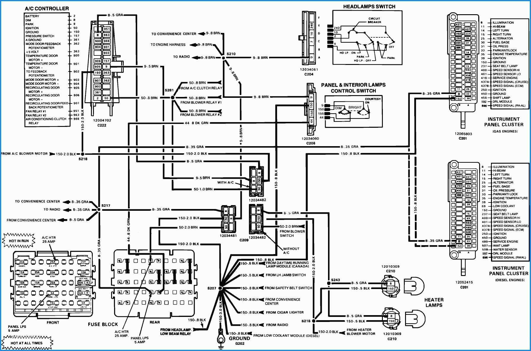 [DIAGRAM] 1987 Camaro Fuse Diagram