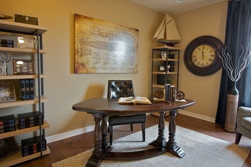 Captivating Curved Desk Design, Pictures, Remodel, Decor And Ideas