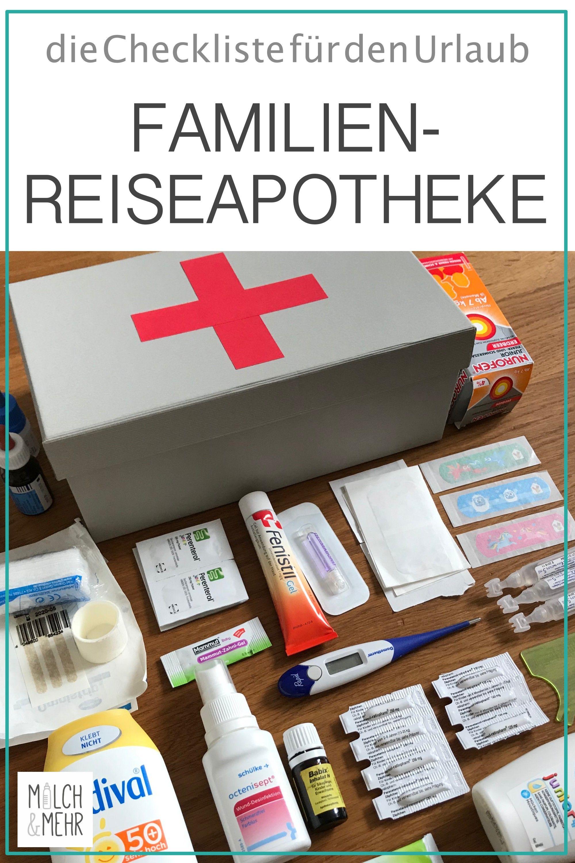 Photo of Reiseapotheke: Checkliste für Familien