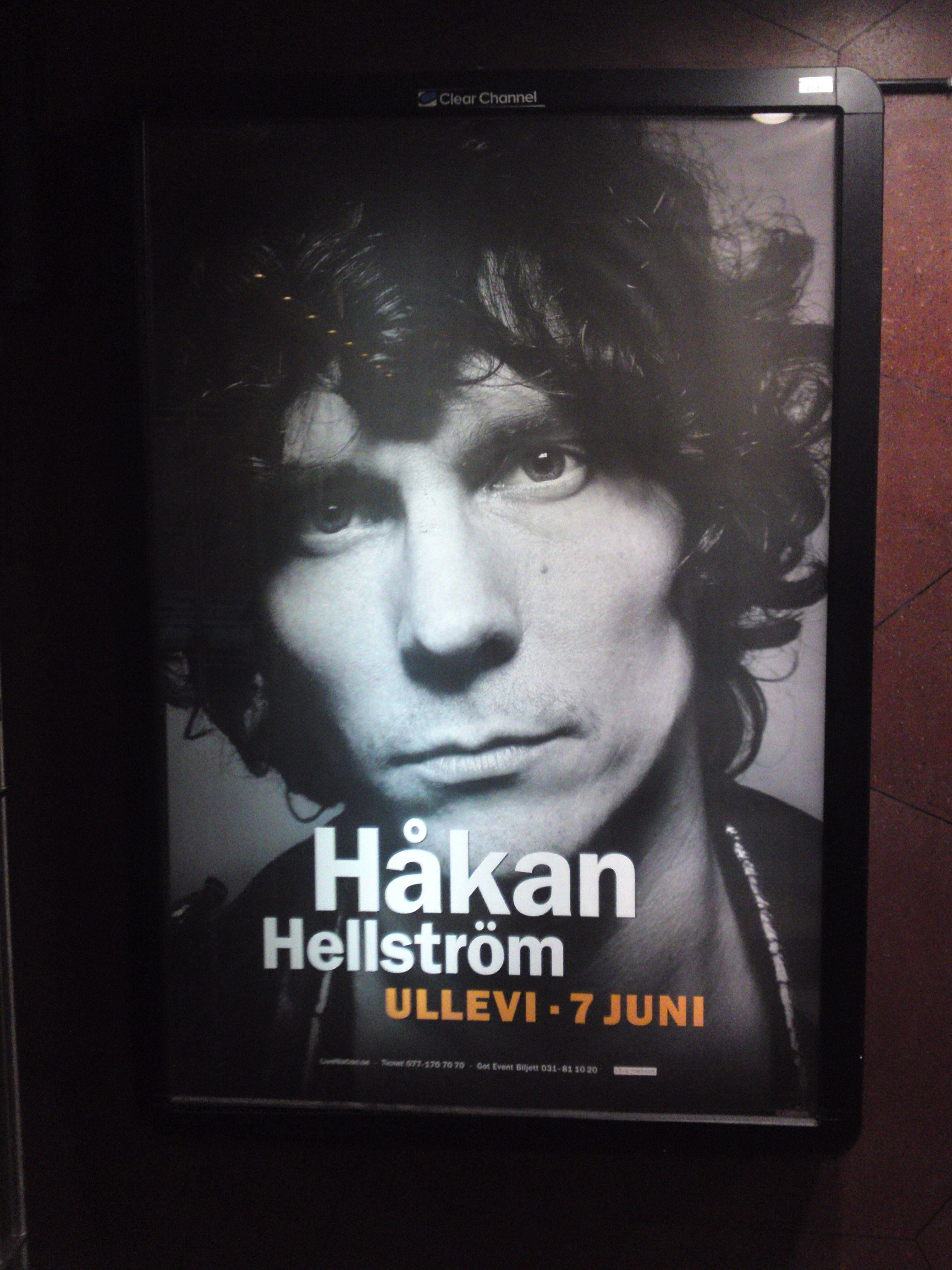 Håkan i Kungsträdgårdens t-bana