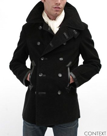 Images of Peacoat Jacket Mens - Reikian