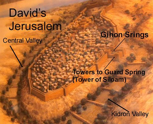 Image result for Jerusalem under King David