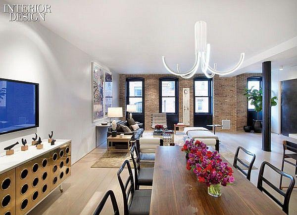 Harmonic Conversion Sara Story Transforms A Tribeca Loft Residential Design Interior Design Interior Design Magazine