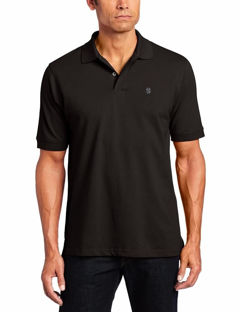 IZOD Men's Big and Tall Heritage Short Sleeve Polo - Choose SZ ...