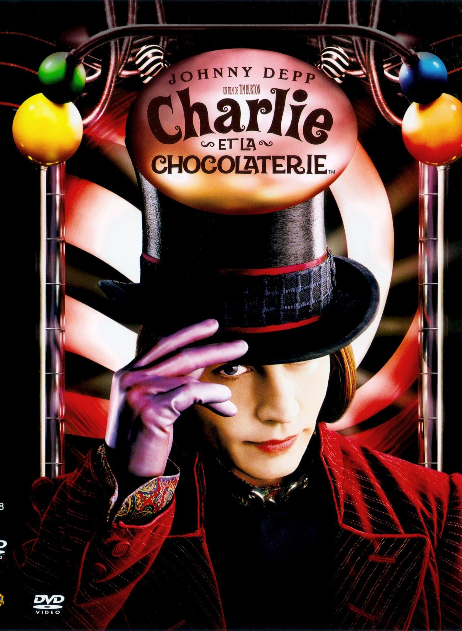 Charlie et la chocolaterie | Charlie et la chocolaterie, Chocolaterie, Tim  burton