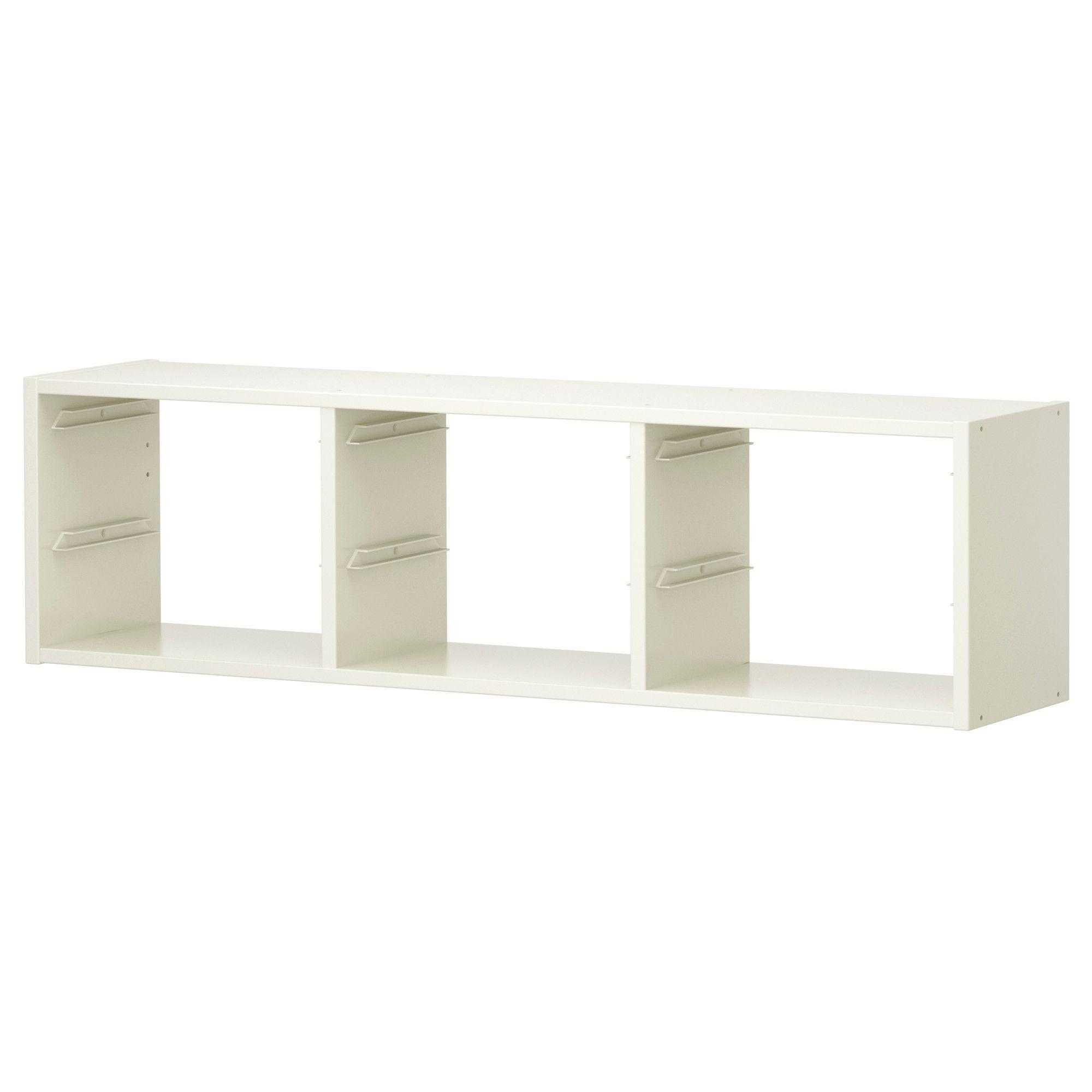 Cubi Contenitori Da Parete.Elemento Da Parete Trofast Bianco Camerette Ikea Armadio E