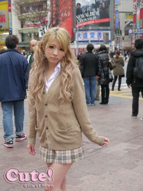 Does Japanese kogal girls