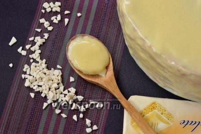 Белая шоколадная глазурь рецепт с фото, как приготовить на ...