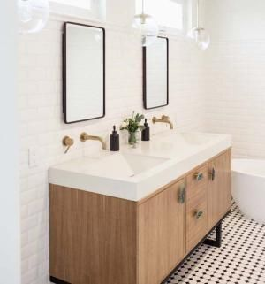 8 Beautifully Chic Bathroom Vanities   Pinterest   Bathroom vanities on stunning fireplaces, stunning bathroom showers, stunning dining room furniture,