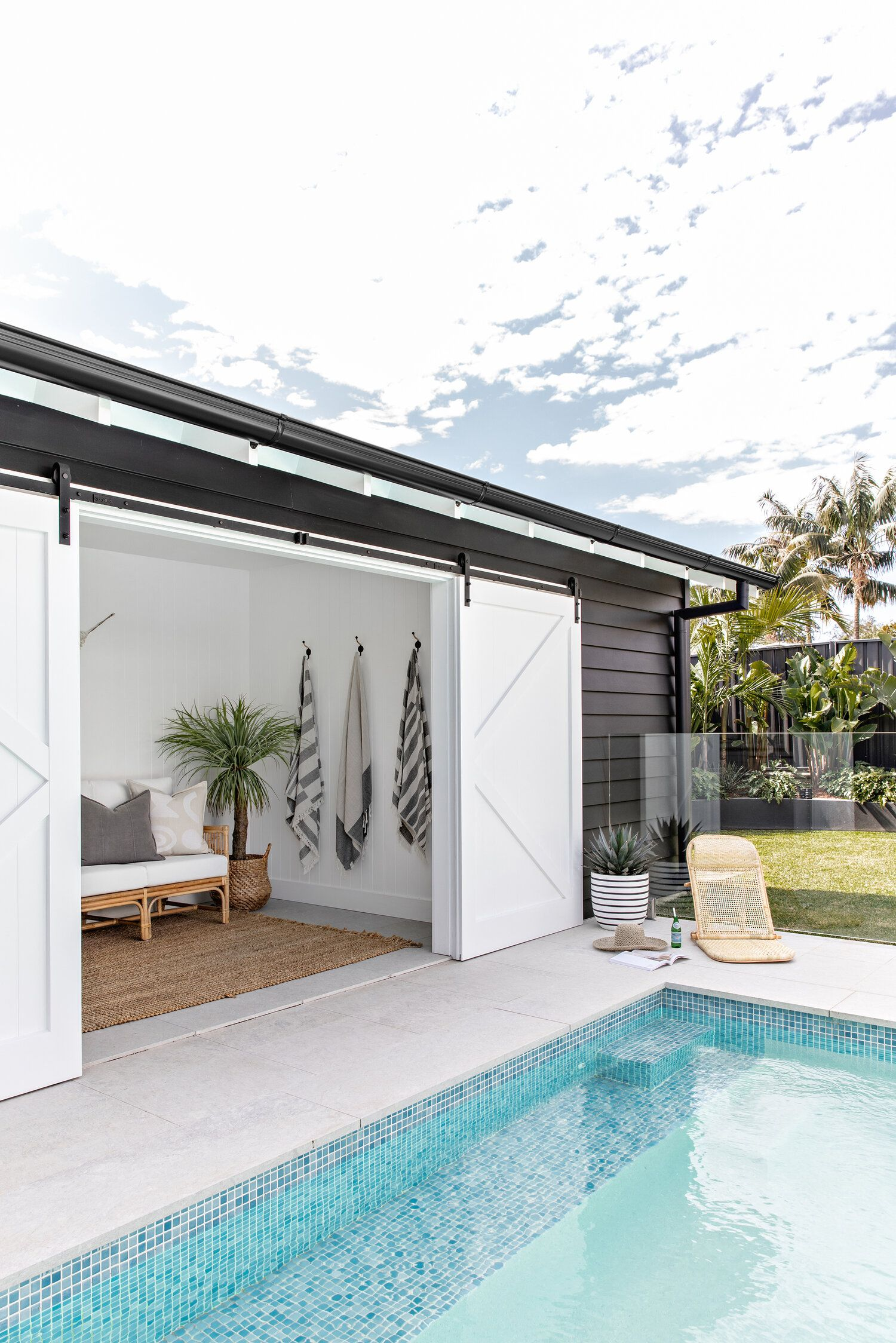 Great Heights Adore Home Magazine In 2021 Pool House Designs House And Home Magazine Pool Houses Backyard pool house designs