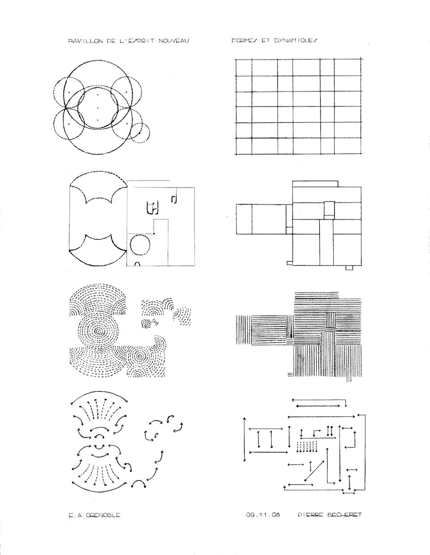 Pavillon De L U0026 39 Esprit Nouveau   Formes Et Dynamiques