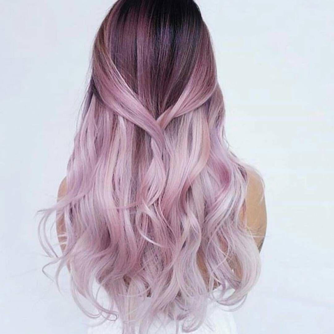 Unicorn hairspo is todayus obsession fabulous pinterest