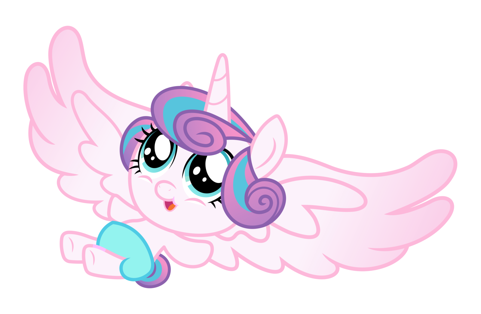 Alicorn Baby Flurry Heart Flurry Heart My Little Pony Baby Heart Coloring Pages