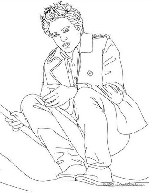 Coloring Pages Of Robert Pattinson And Taylor Lautner Coloring Pages Coloring Book Art Halloween Coloring Pages