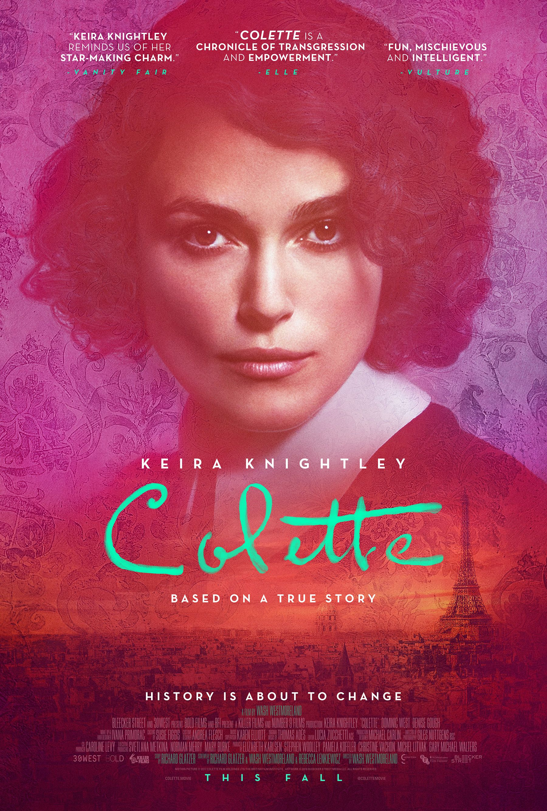 Keira Knightley Flirts With Both Men And Women In Trailer For Colette Keira Knightley Biography Movies Free Movies Online
