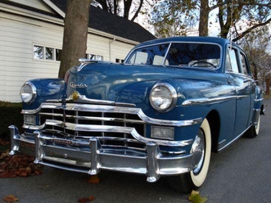 1949 Chrysler Saratoga Sedan With Images Chrysler Saratoga
