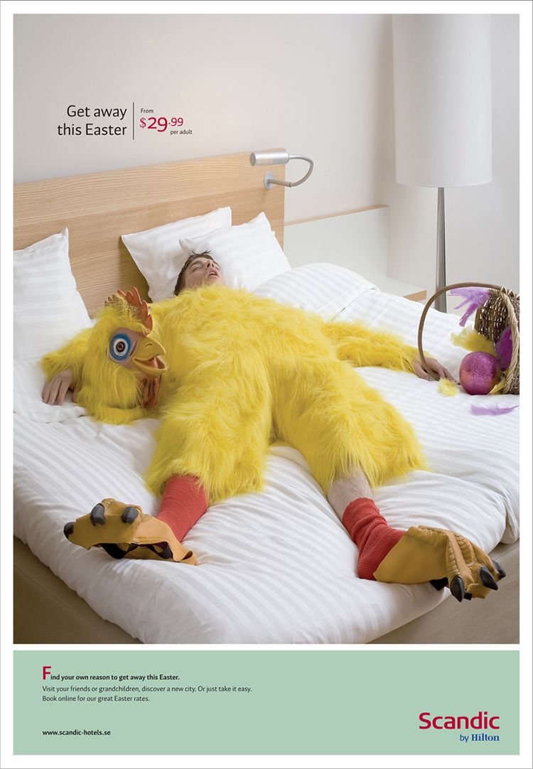 40 Fun And Creative Easter Advertisements Smashcave Ads Creative Promotional Products Marketing Advertising
