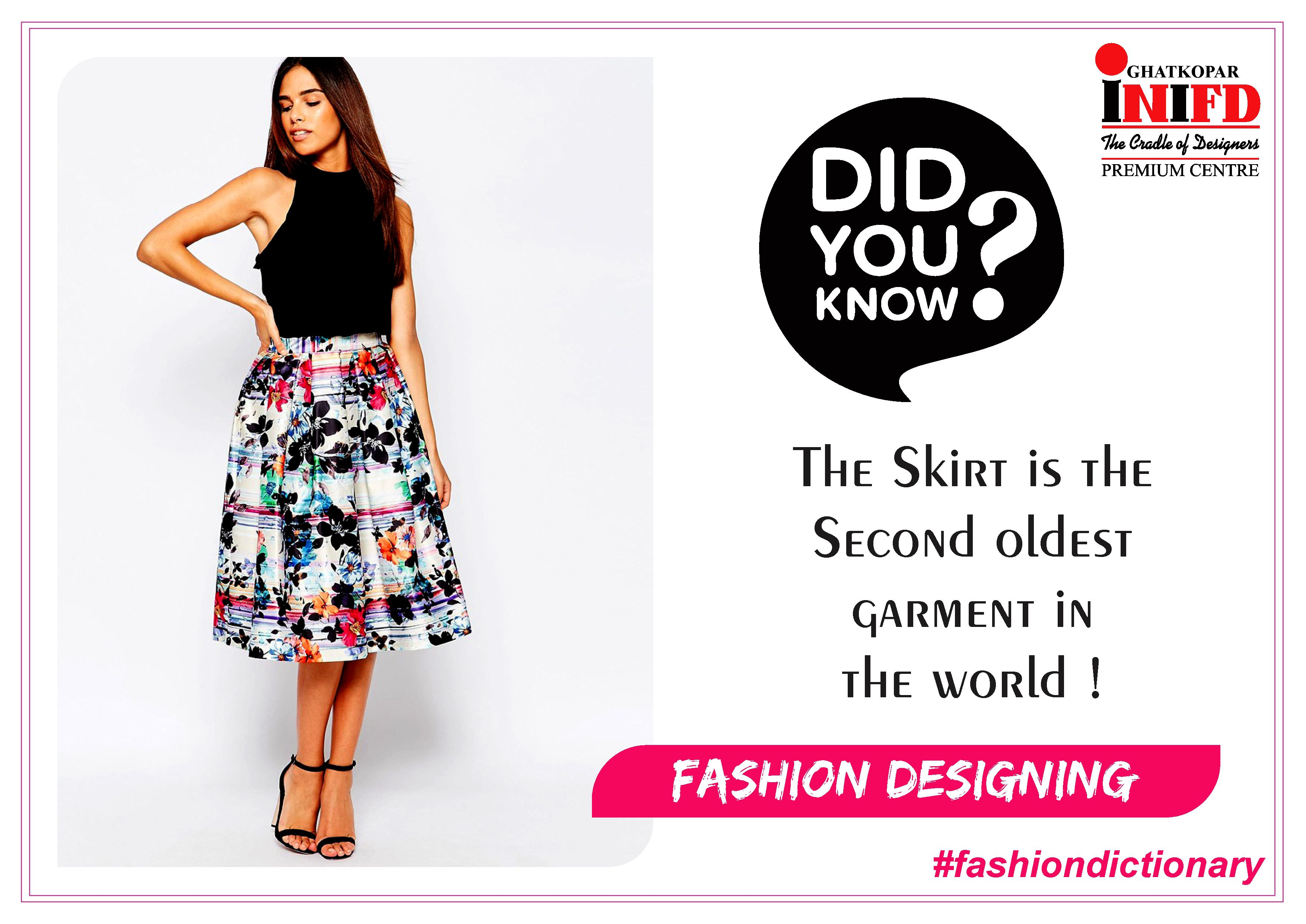 Fashiondictionary Did You Know The Skirt Is The Second Oldest Garment In The World Do You Want To Learn Such Fashion Design Fashion Dictionary Fashion