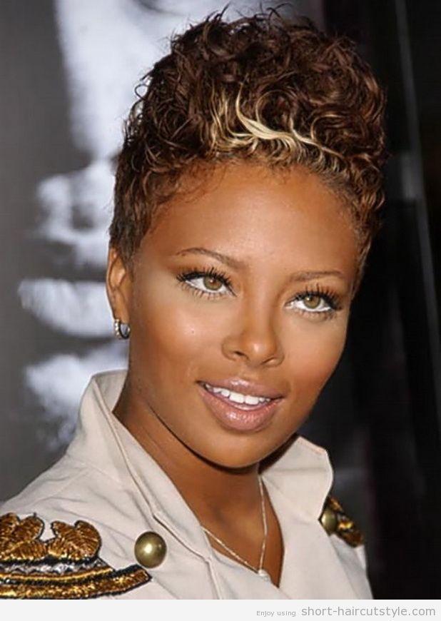 short hair styles for black women on pinterest black women ...