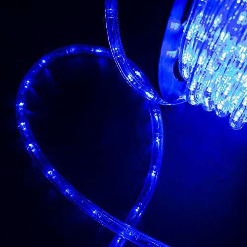 Silverylake 30m 100ft 1080 Leds Rope Light Home In Outdoor Christmas Decorative Party Lighting Blue 5ive Dollar Market Rope Lights Rope Light Party Lights