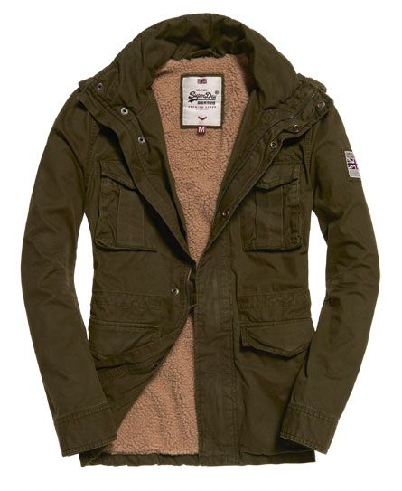 Mens - Rookie Heavy Weather Field Jacket in Dark Khaki