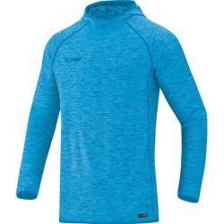 Photo of Jako ladies hooded sweatshirt Active Basics, size 34 in Jako blue mottled, size 34 in Jako blue mottled