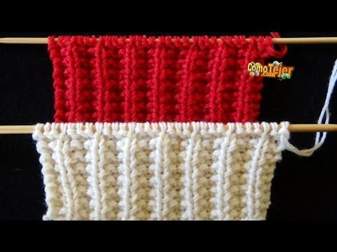 Cómo Tejer Bufanda Infinita Reversible How To Knit An Infinity Scarf 2 Agujas 455 Youtube Knitting Knit Stitch Patterns Crochet Hooded Scarf