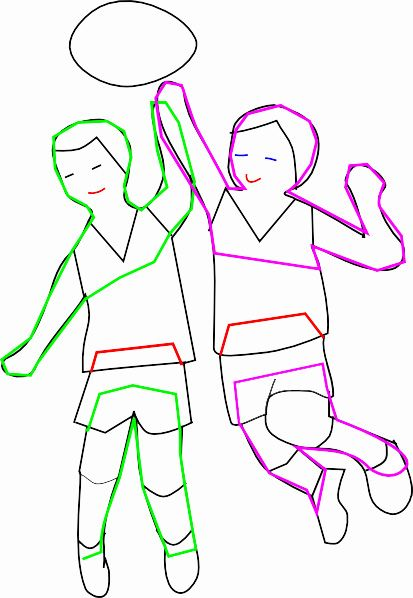 Aussie rules football - kids playing applique. | Aussie Rules ...