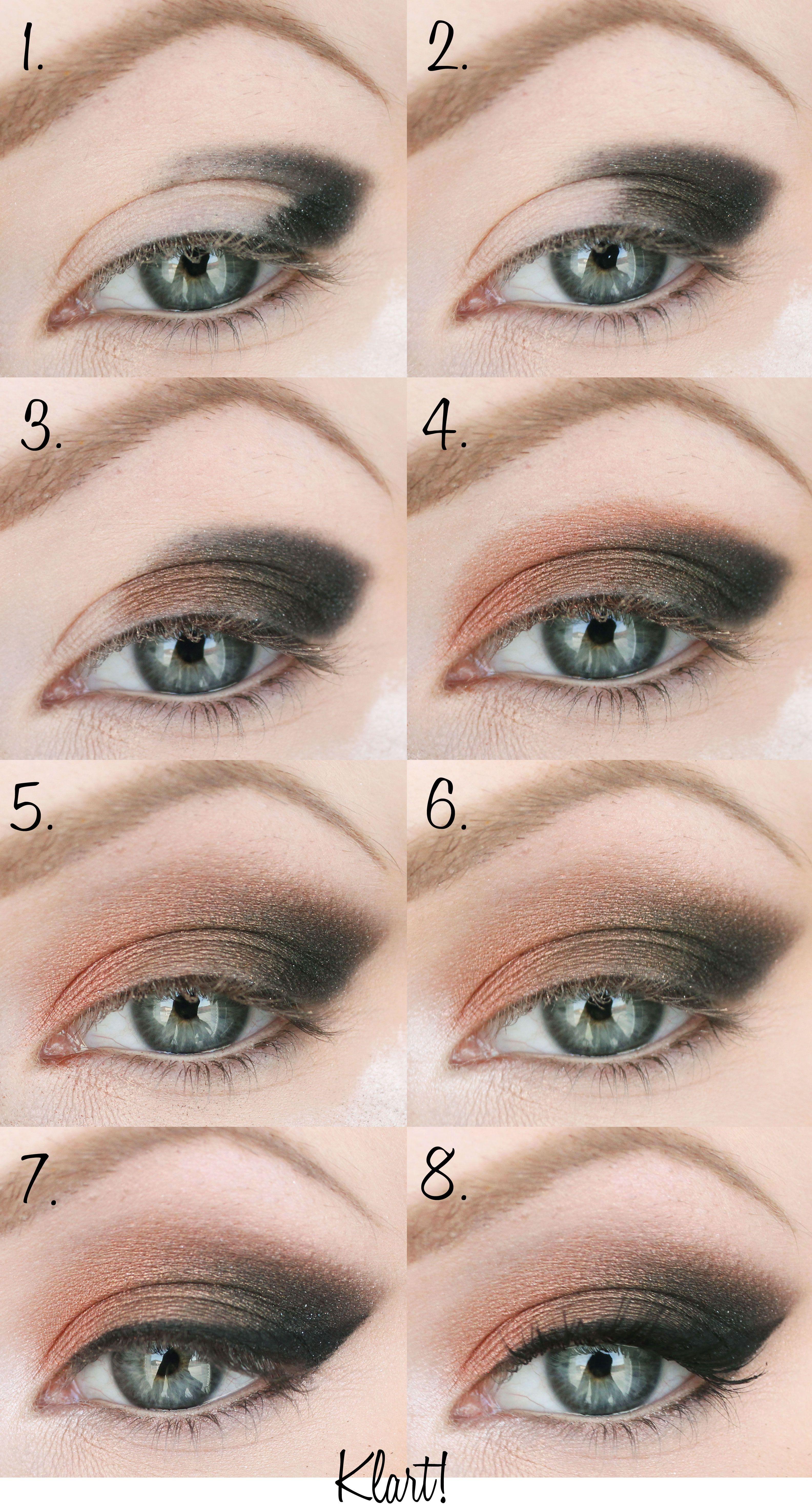 Ögonskugga steg för steg