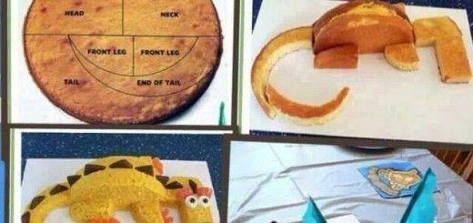 como decorar torta de cumpleaos con forma de dragon