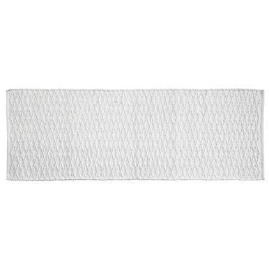 Cotton Rectangular Bath Mat with Diamond Pattern - 60 ...