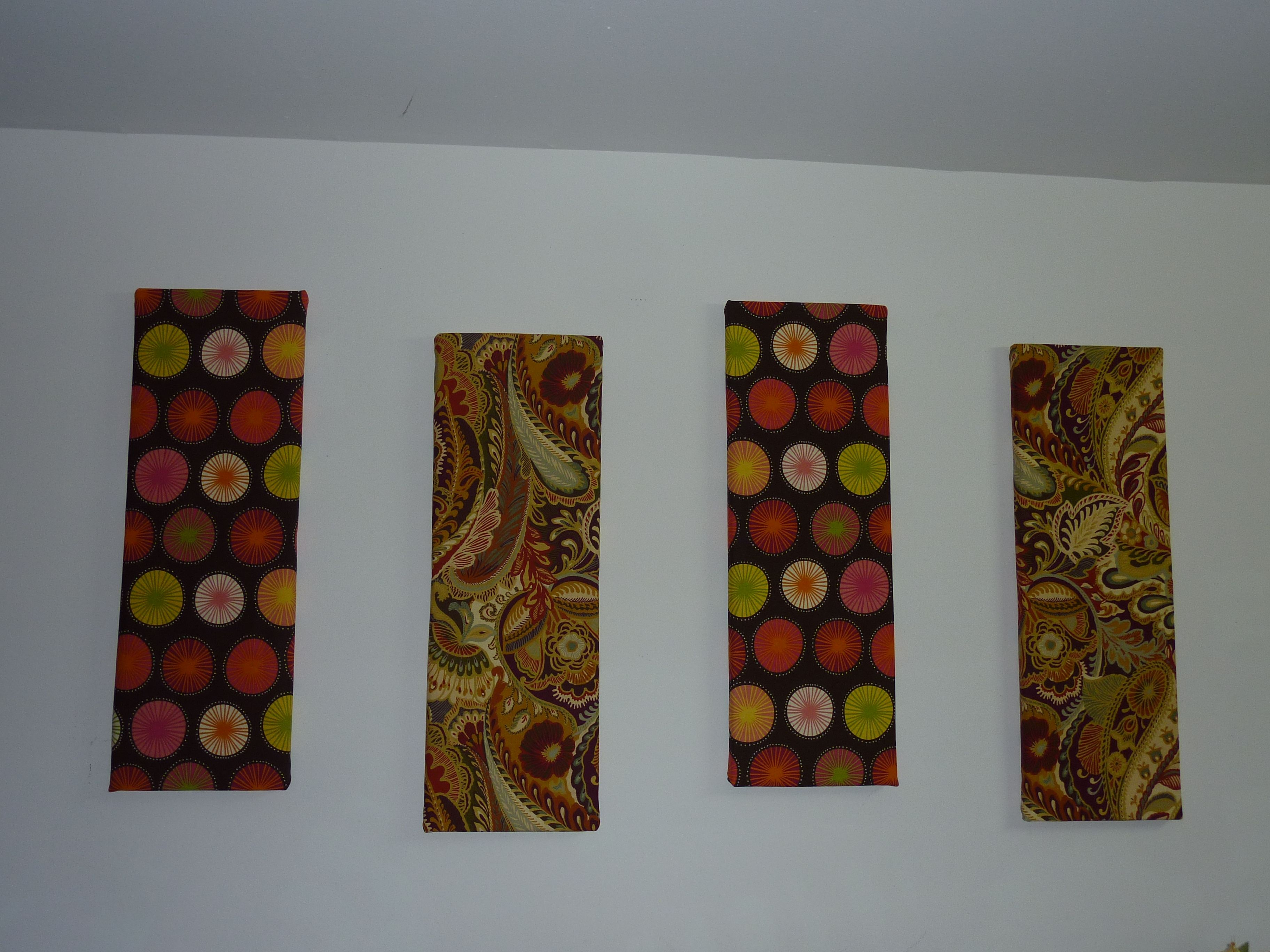 Easy Styrofoam And Fabric Wall Decor Fabric Wall Decor Fabric Wall Decor