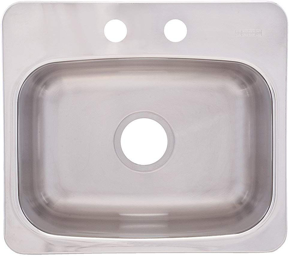Franke Usa Bmsk802 Sink Stainless Steel With Images Topmount Sink Sink Stainless Steel Bathroom Sink